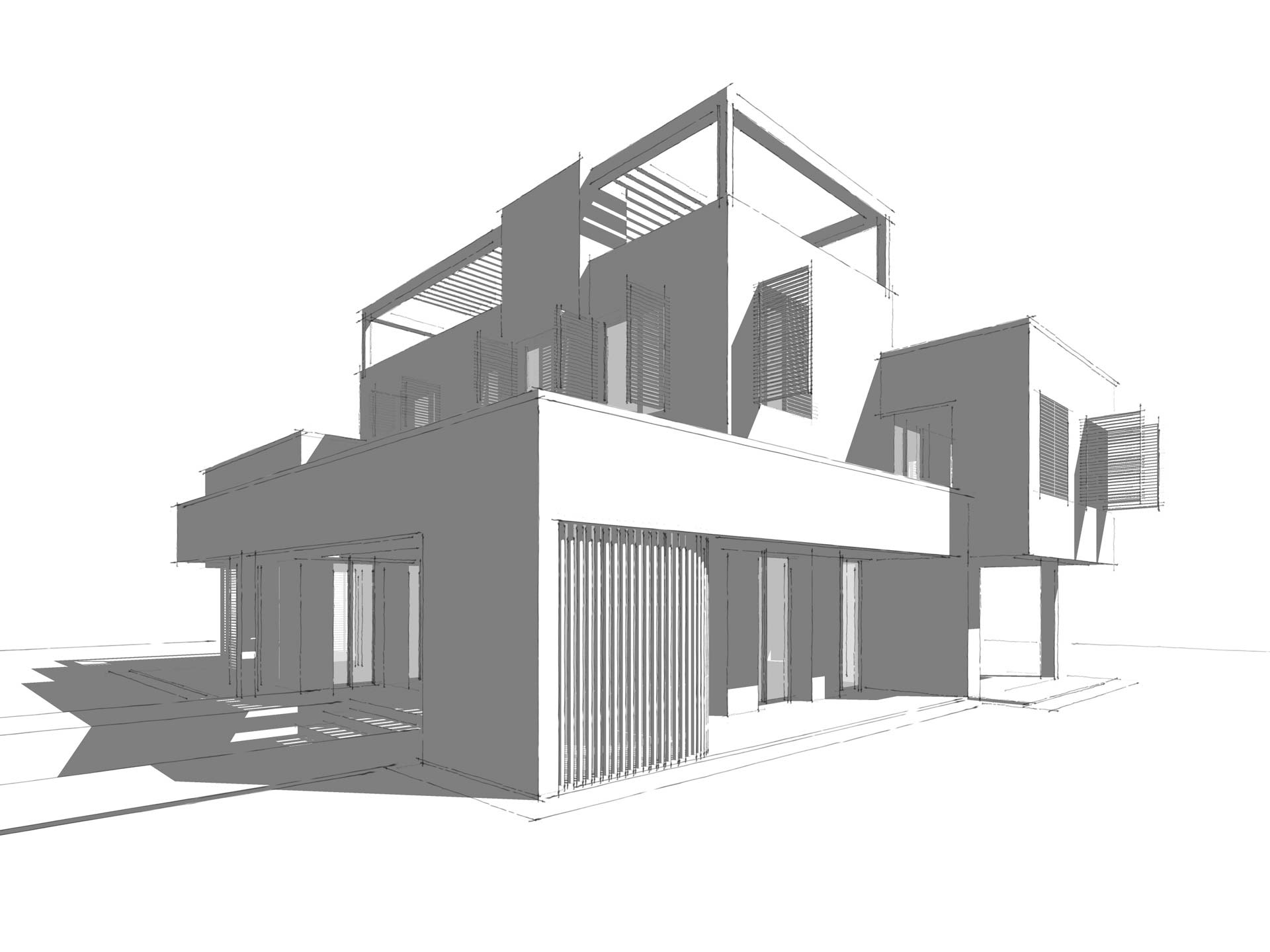 Villa Madrid Marc Architects